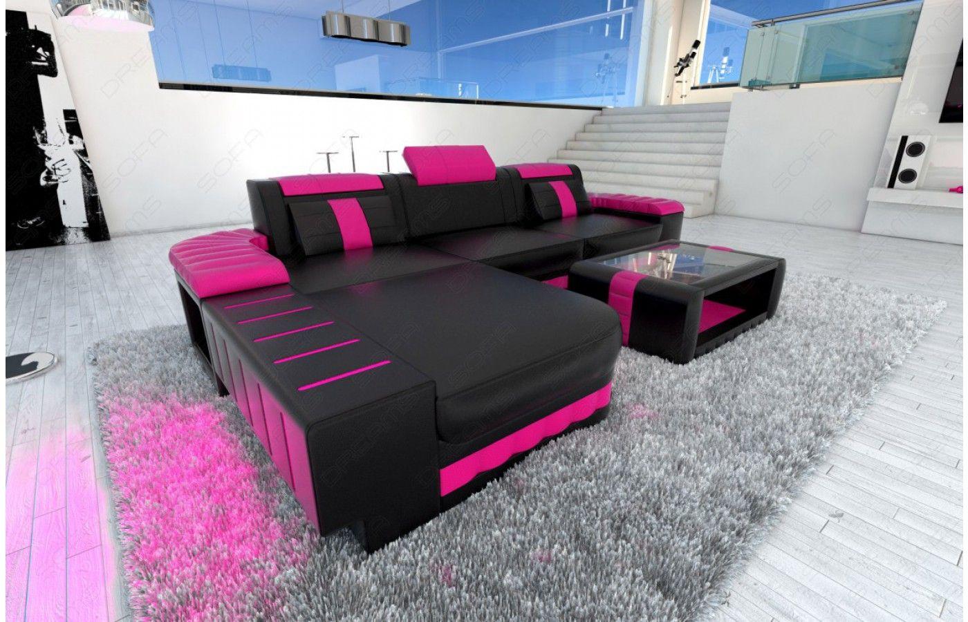 Designersofa BELLAGIO LED L Form In Beige Weiß   Exklusiv Bei Sofa Dreams |  Designersofa BELLAGIO LED L Form | Pinterest