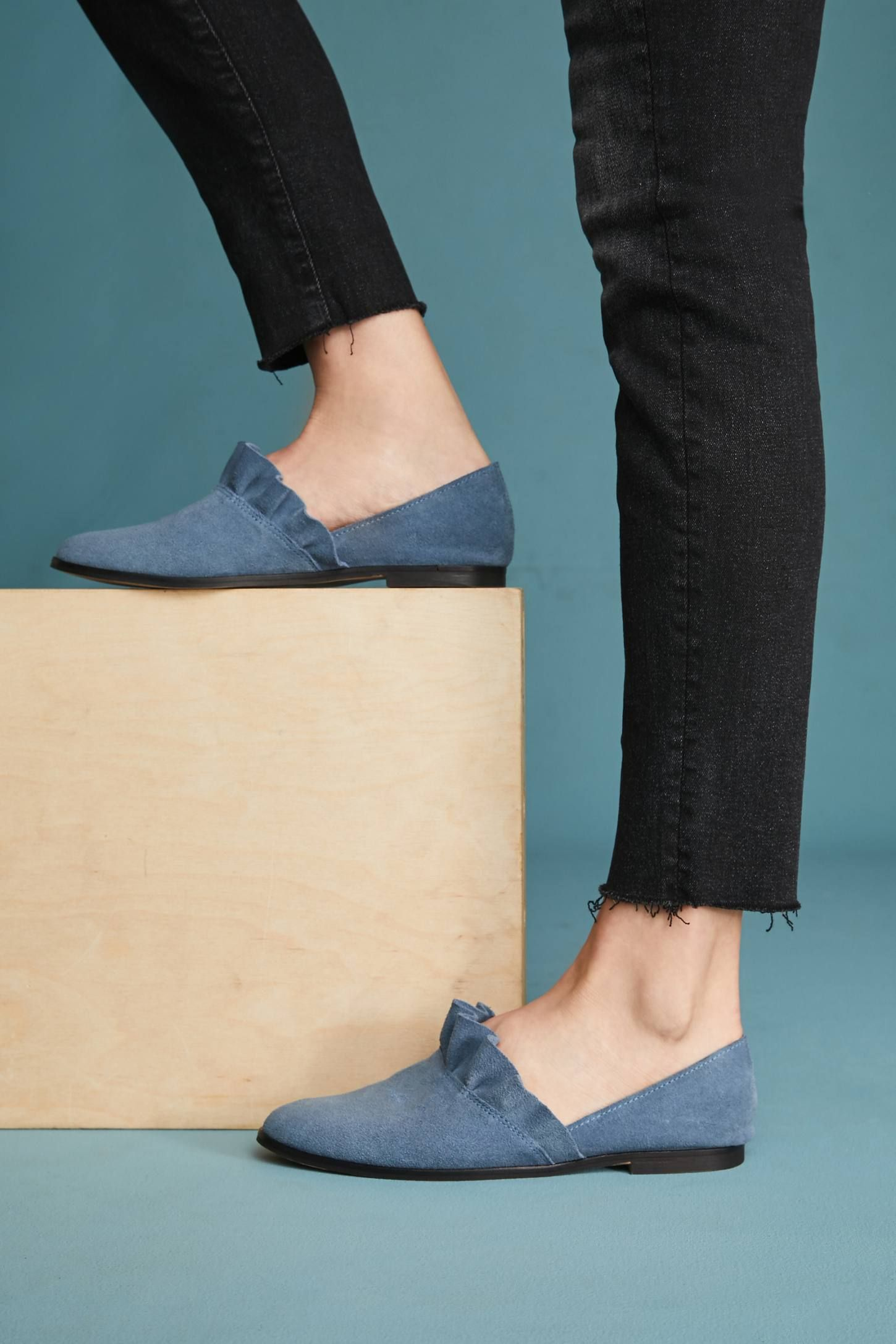 41b6a01174e0 Shop the Klub Nico Gabbie Ruffled Flats and more Anthropologie at  Anthropologie today. Read customer reviews, discover product details and  more.