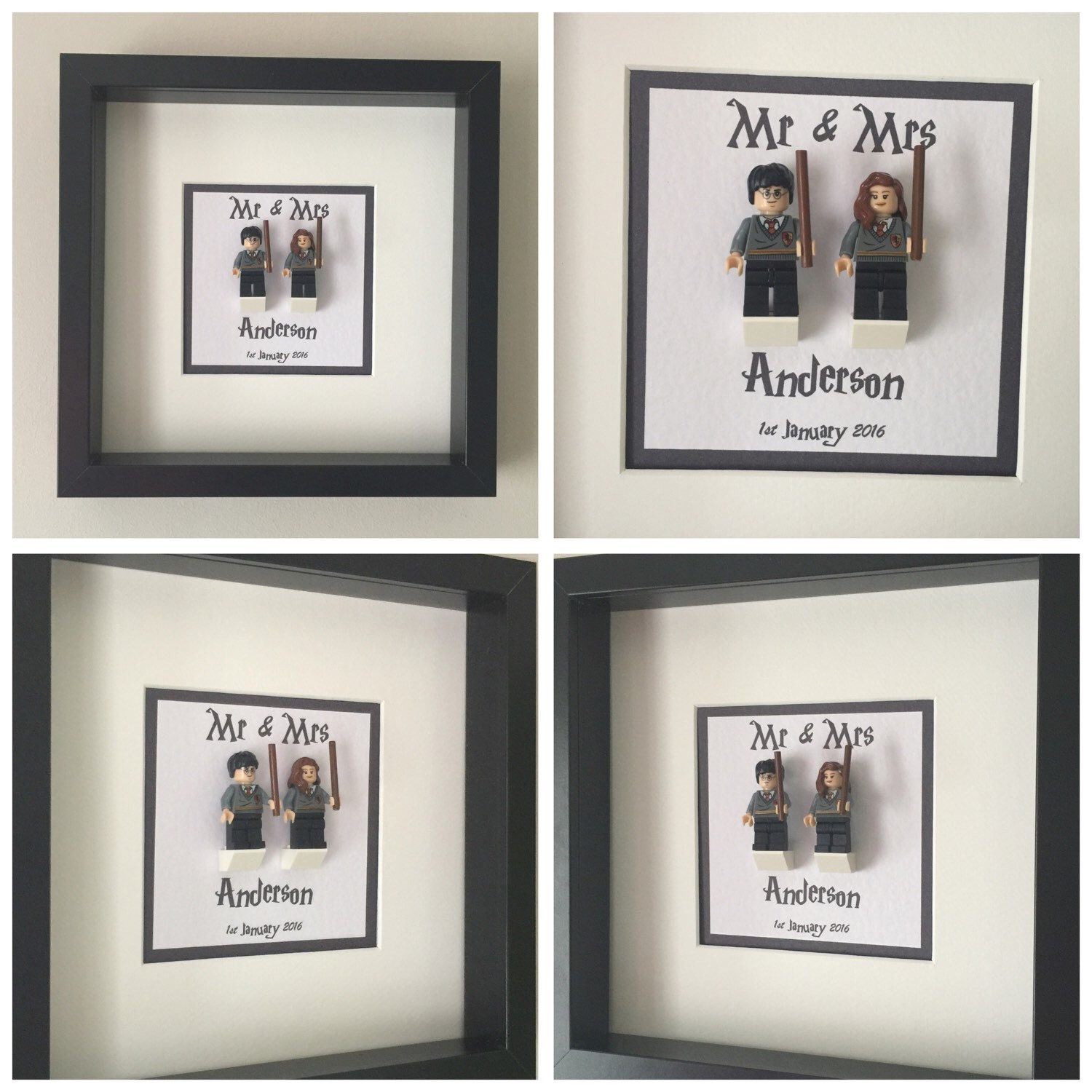 Harry Potter Mr & Mrs Wedding Frame Now Added To Our Shop