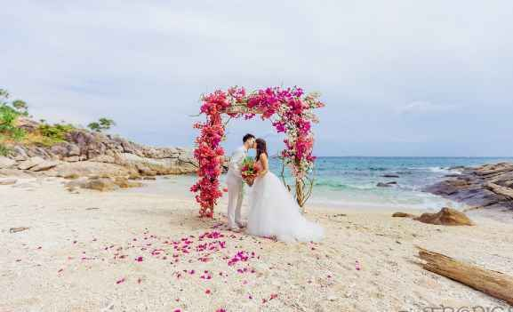 Intimate Beach Wedding Intropics Destination Weddings And Photography Package Et