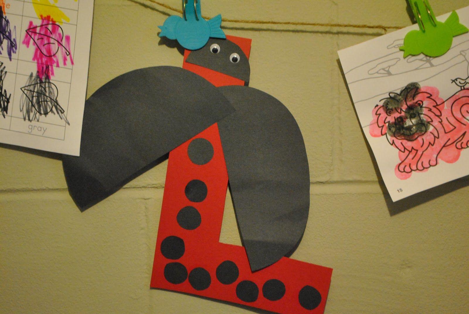 Letter L Letter a crafts, Letter l crafts, Preschool