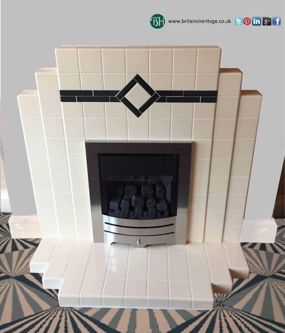 Art Deco Fireplace Design Ideas