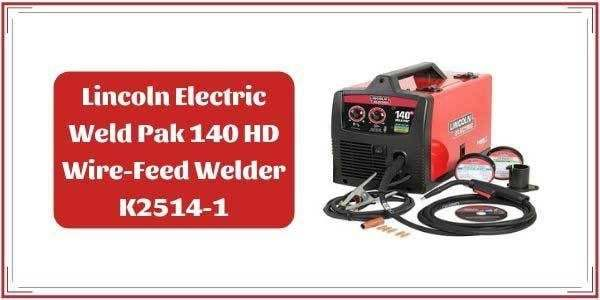 Lincoln Weld Pack 140 Review Wire Feed Welder Paks Lincoln