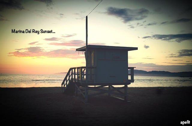 September 9, 2015 Marina Del Rey Sunset...