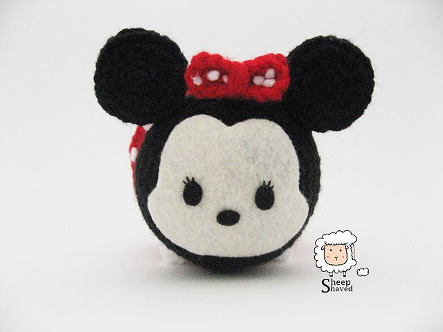 Minnie Mouse Tsum Tsum pattern by Sheep Shaved | Crochet | Pinterest ...