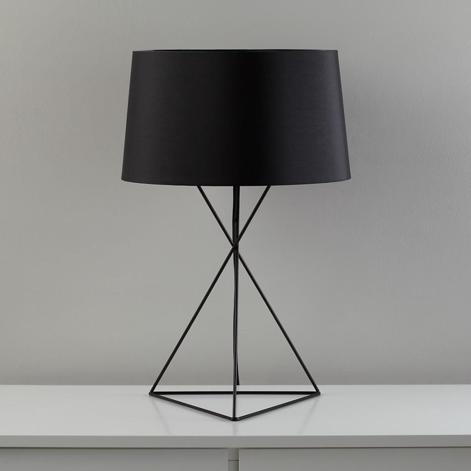 Wire Table Lamp | lights in 2019 | Black table lamps ...