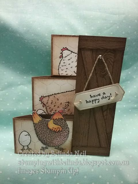 handmade greeting card from Stampinu0027 it up with Belinda Three - greeting card format