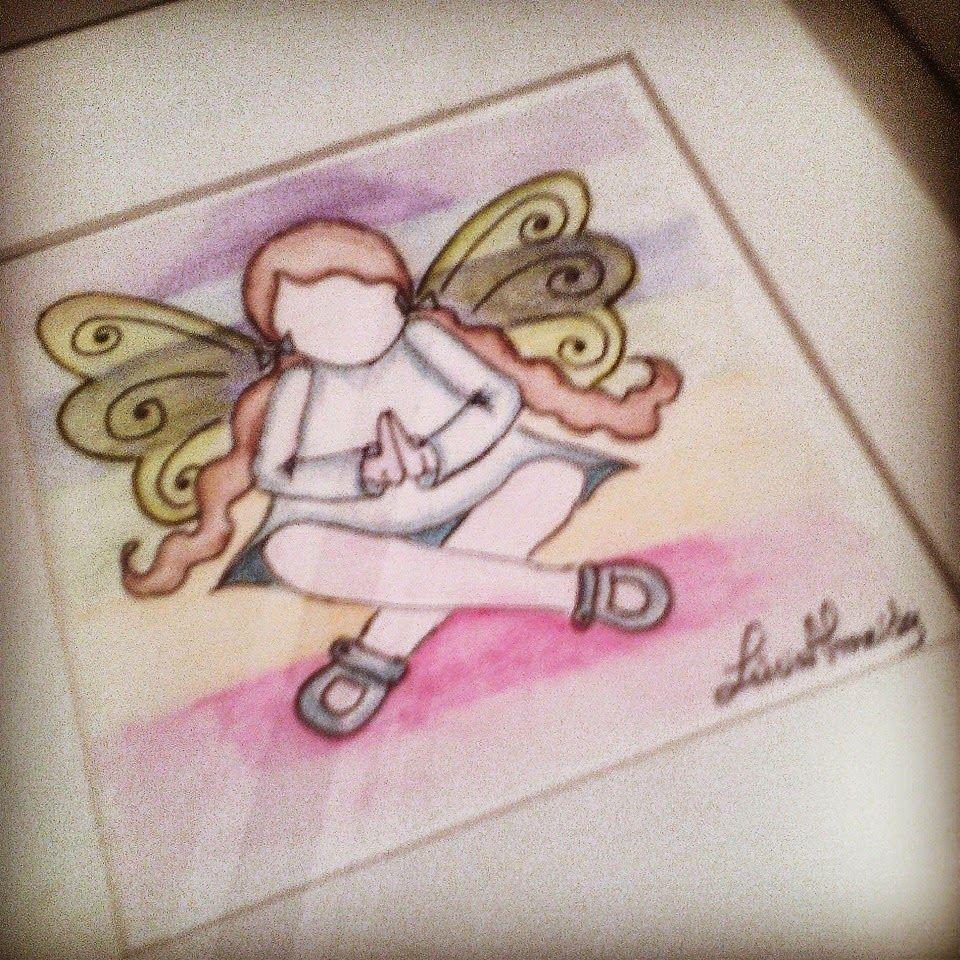 By Miminhos da Lúcia: A menina e seu arco-íris   A Fada Menina  Pintura em aguarela....fada menina...é uma fadinha que faz a sua meditação junto com as cores do arco-íris