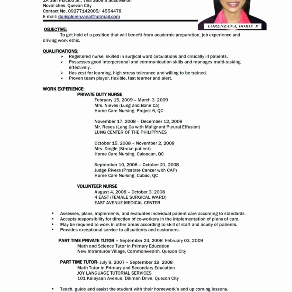 40 First Time Job Resume in 2020 Job resume examples