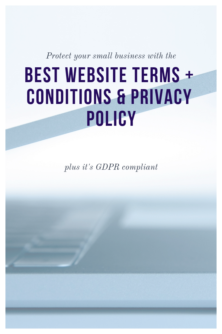 Terms Conditions Privacy Policy For Your Website Gdpr Ccpa Compliant Email Marketing Inspiration Blogging Advice Email Marketing Template