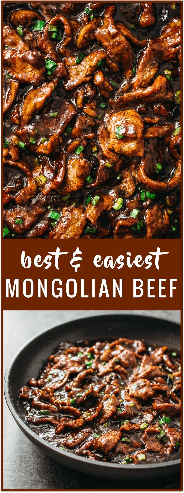 authentic easiest mongolian beef - Mongolian beef is an easy and fast 15-minute stir-fry recipe with tender beef slices and a bold sticky sauce with a hint of spiciness. It's served with steamed rice or noodles.