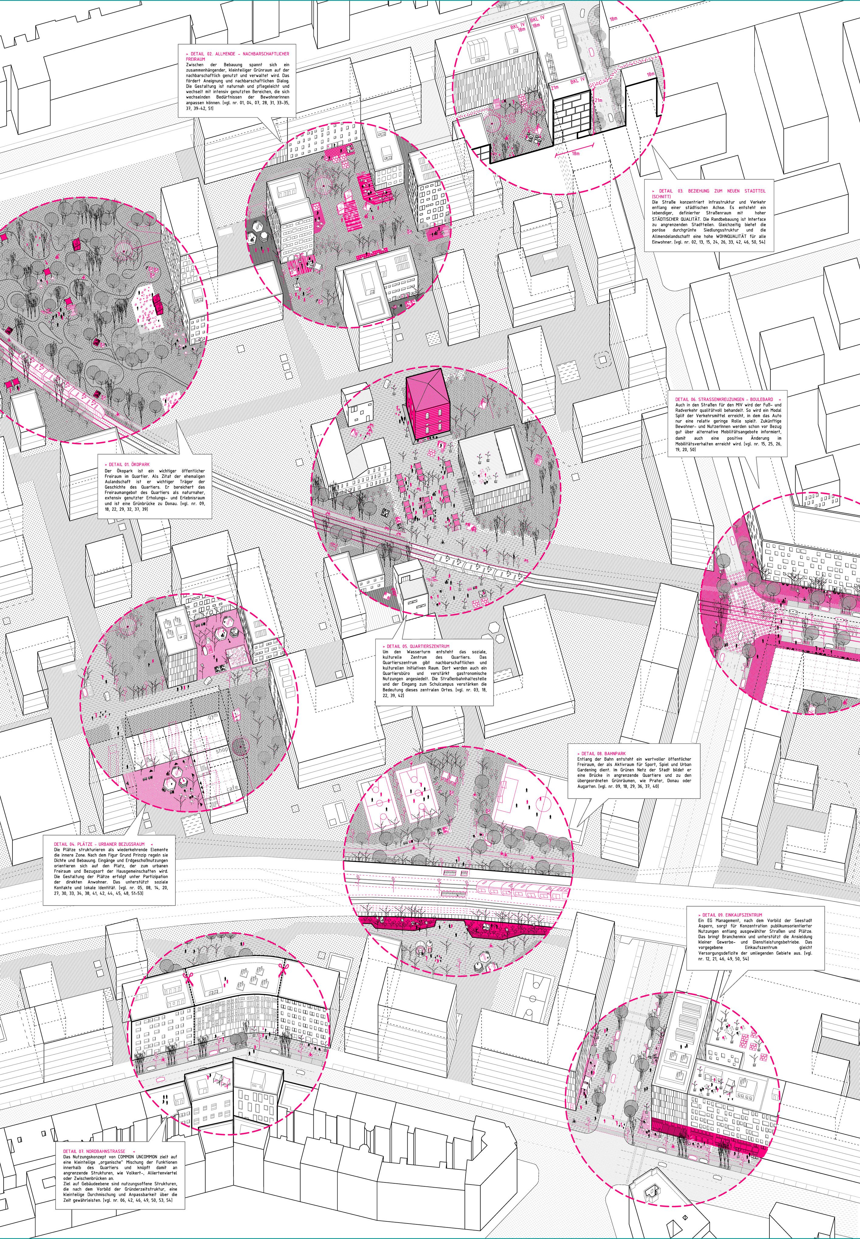 Pin by Adriana Chavez on laminas | Urban design diagram