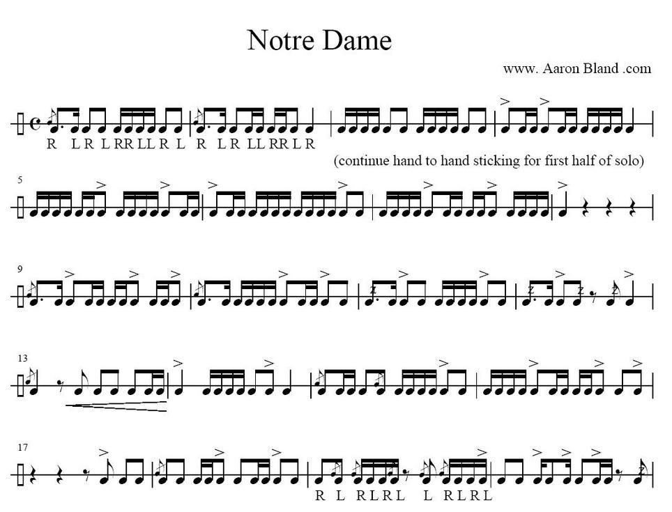 Snare Drum Solos Google Search DRUMS Drum Sheet