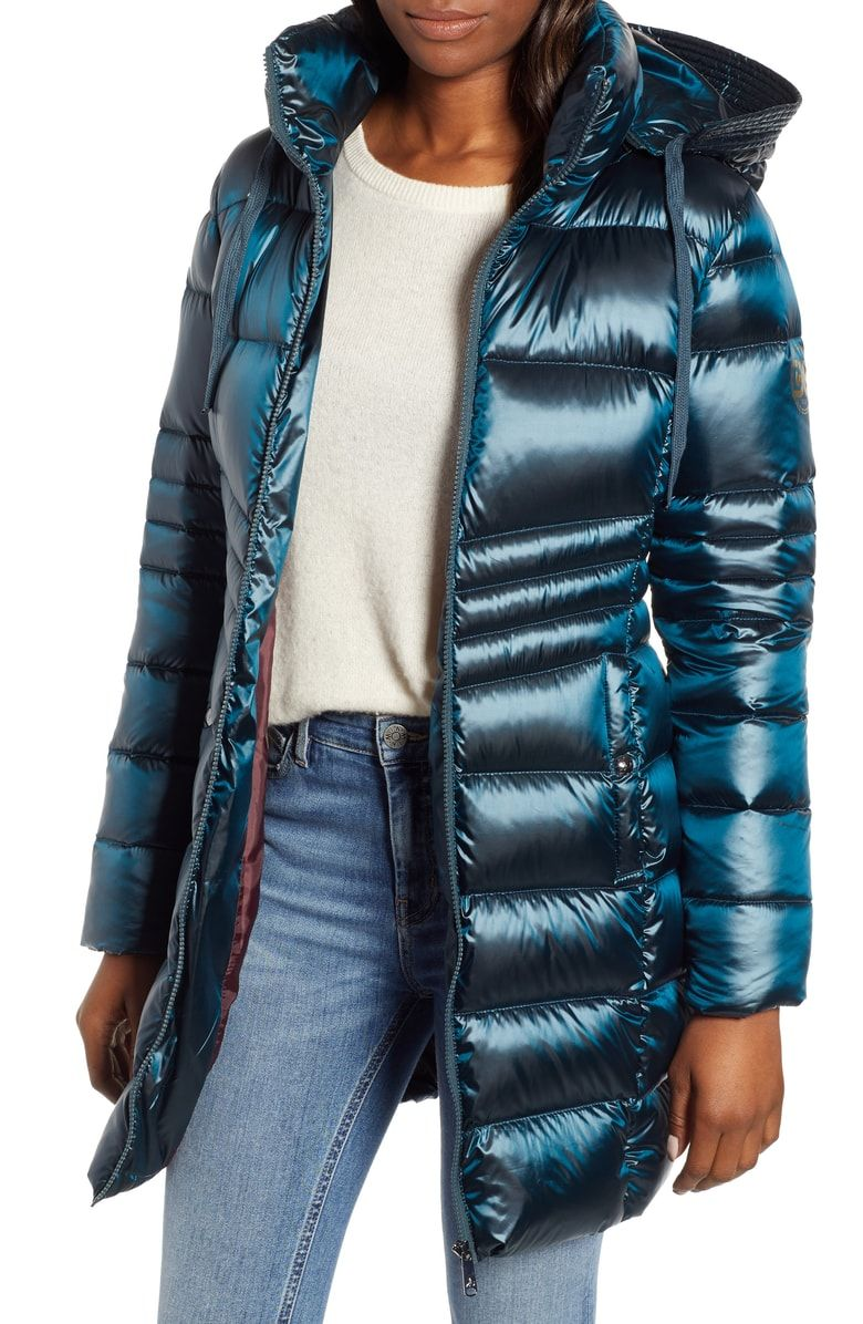 Free shipping and returns on Sam Edelman Hooded Down Coat at