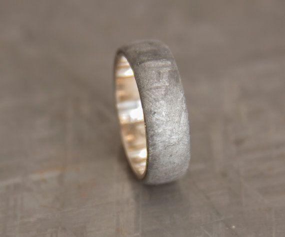 Anillo De Meteorito Oro Por Aboutjewelry