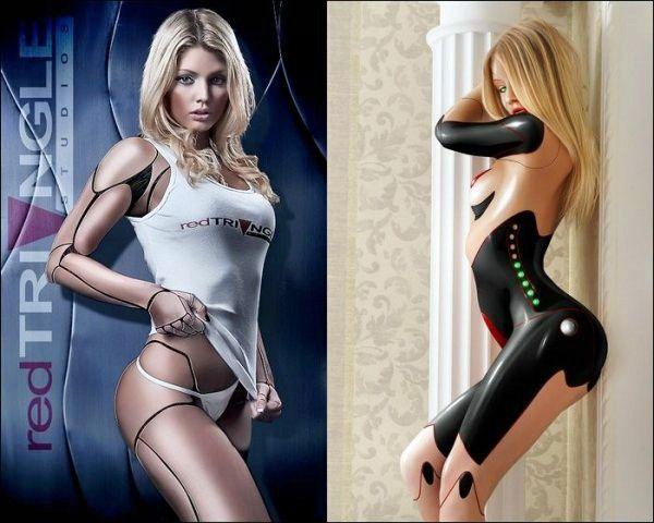 Женщина робот для секса