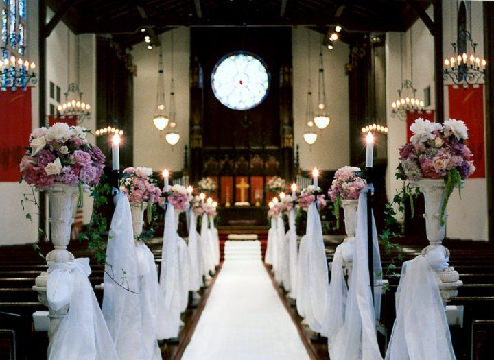 Our center aisle is 106 feet long! Beverly Hills Wedding