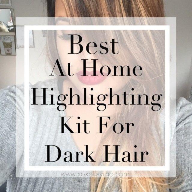 Best at home highlighting kit for dark hair dark hair perms and best at home highlighting kit for dark hair httprnbjunkiextumblr hair color highlightsdiy solutioingenieria Choice Image