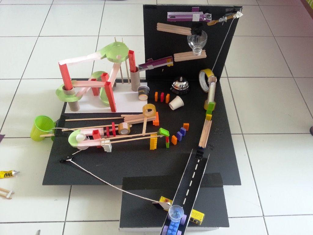 Rube Goldberg Ideas For School