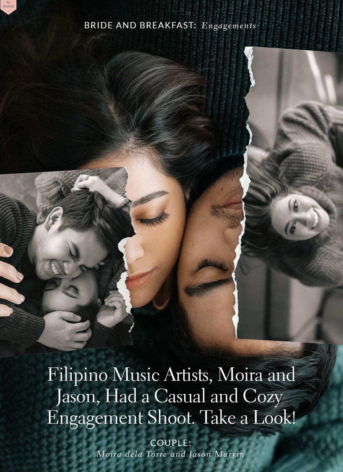Filipino Music Artists, Moira and Jason, Had a Casual and