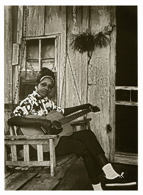 a young Jessie Mae Hemphill Mississippi Hill Country Blues 1967 by George Mitchell