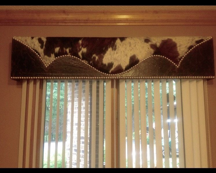 Related Image Window Cornices Cowhide Decor Western Curtains #western #curtains #for #living #room