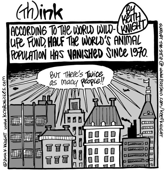 Cartoon: World wildlife