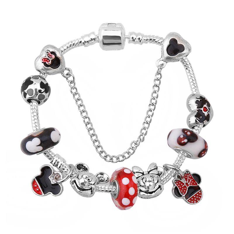 Love Charm Bracelets Bracelets Women Fashion Glass Charm Bracelet Charm Bracelet