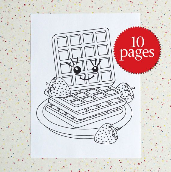 waffles coloring sheets yahoo image search results