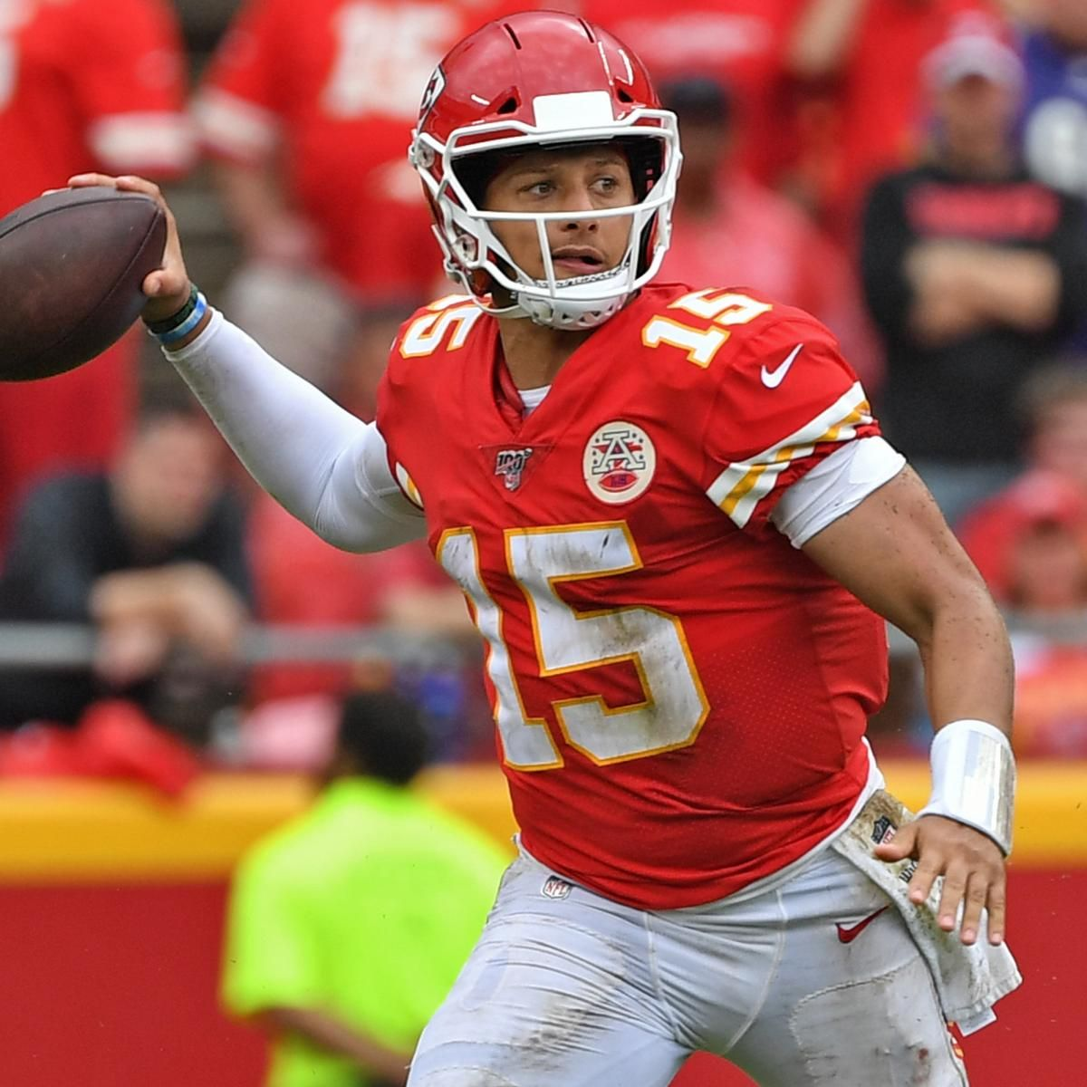Chiefs Patrick Mahomes Becomes Fastest Player To Reach 99 Overall In Madden In 2020 Chiefs Football Nfl Players Kansas City Chiefs Football