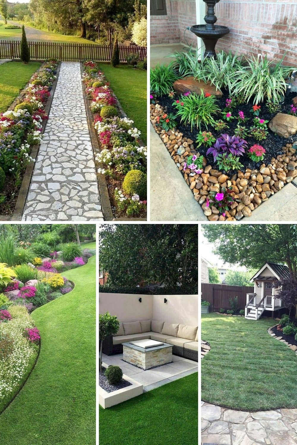 Best Front Yard And Backyard Landscaping Ideas On A Budget Frugal Living Amazing Gardens Backyard Landscaping Landscaping Inspiration