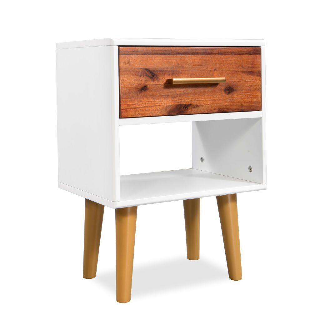 Best H4Home Mid Century Modern Bedside Cabinet Table 400 x 300