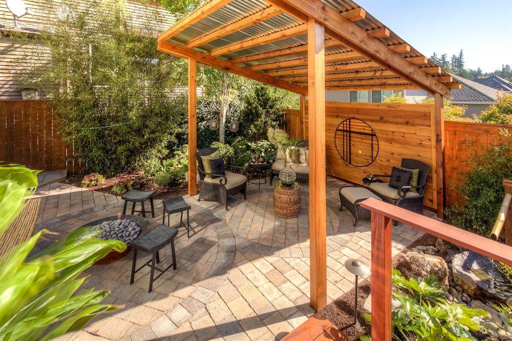 Engaging Corrugated Metal Roofing Patio Gazebo Designs