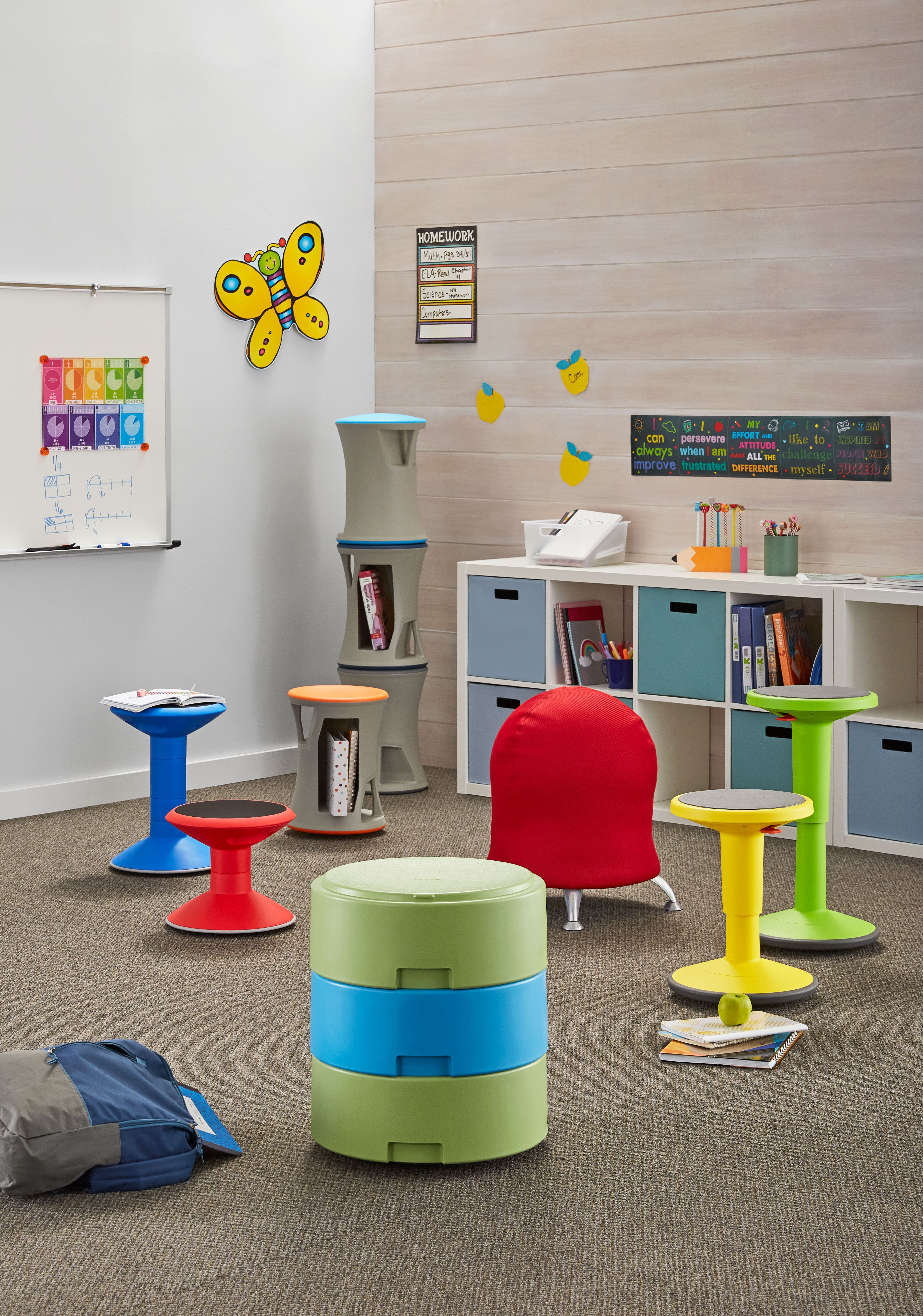 Flexible Seating Inspiration For The Classroom Motion Stools