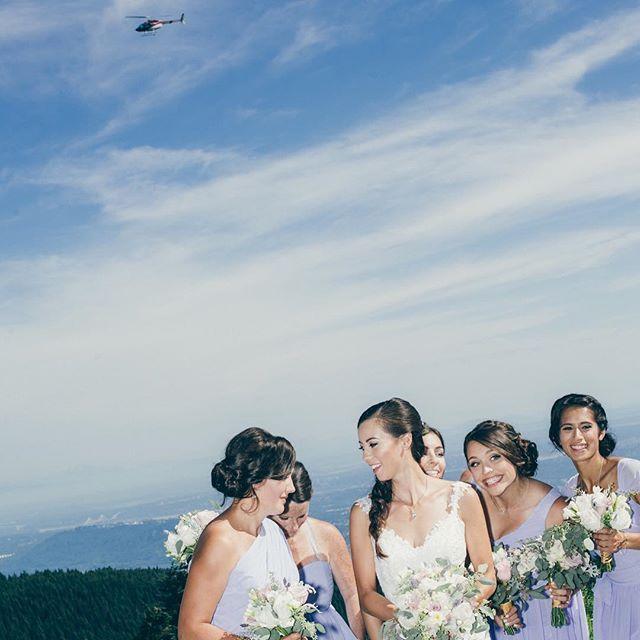 nice vancouver wedding #bride #bridalparty #grousemountain #vancouver #grouse by @wgwedding  #vancouverwedding #vancouverwedding