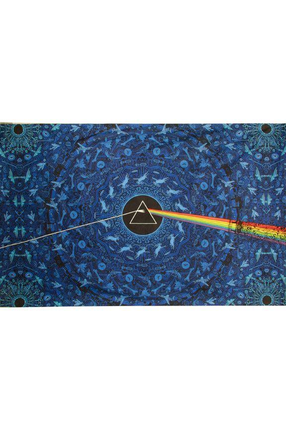 3D Pink Floyd Dark Side Lyrics Blue Tapestry