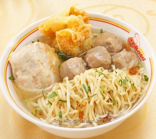 Resep Masakan Bakso Malang Aneka Resep Masakan Recettes Indonesiennes Alimentation Cuisine