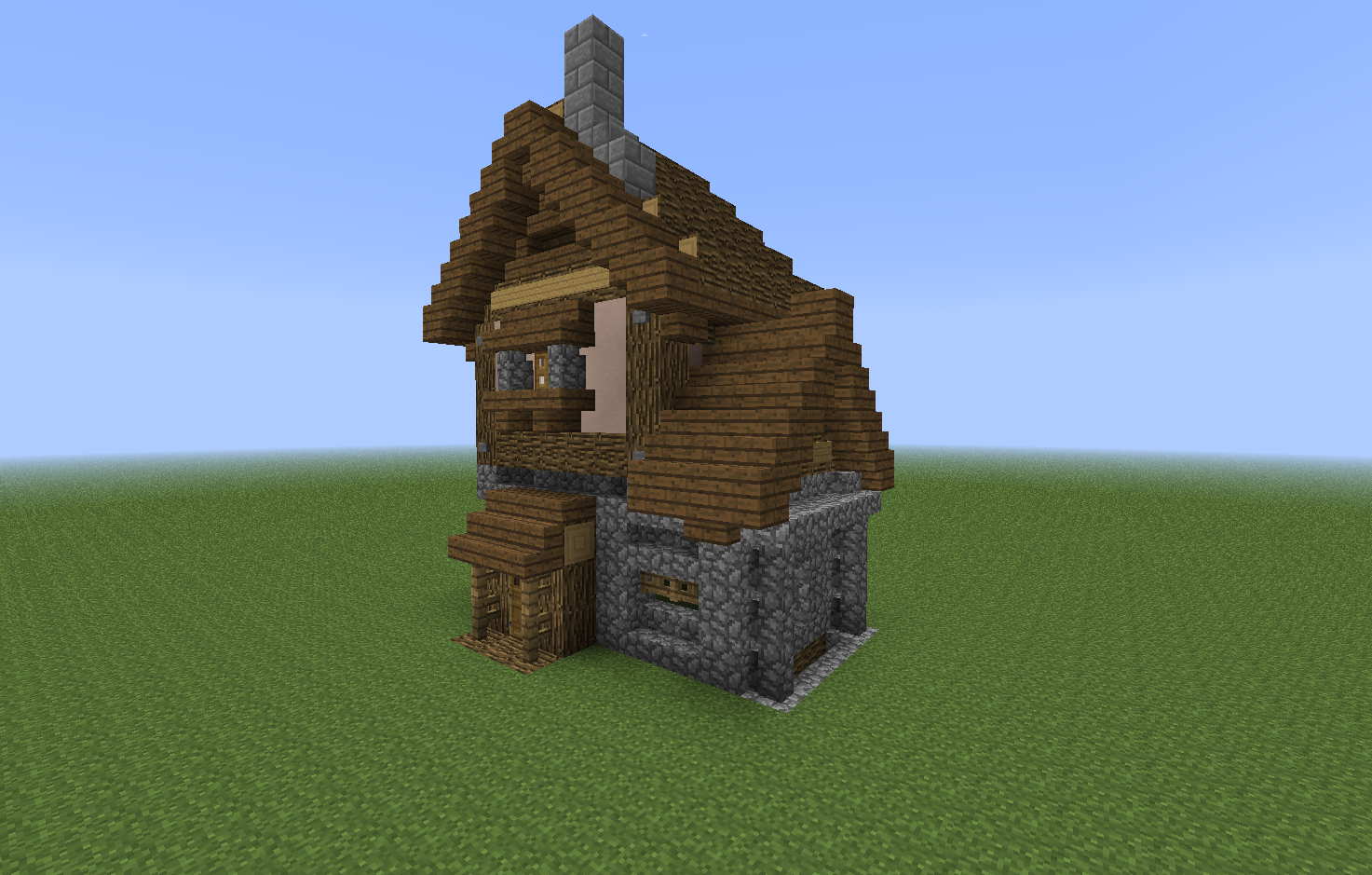 Small Medieval House Minecraft. Small Medieval House Minecraft   MineCraft   Pinterest   Medieval