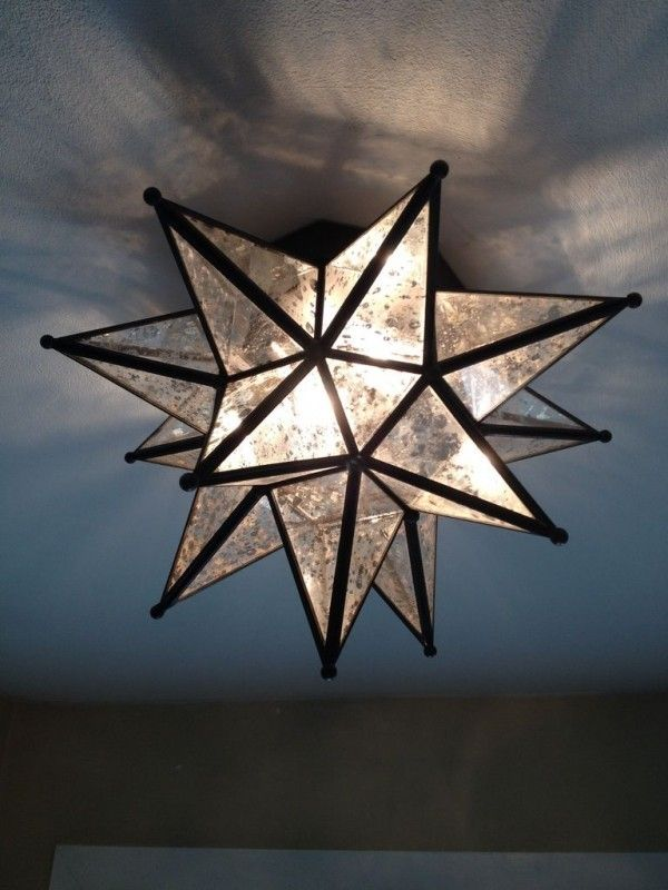 Star Ceiling Light Fixture Foter Moroccan Decor In 2019