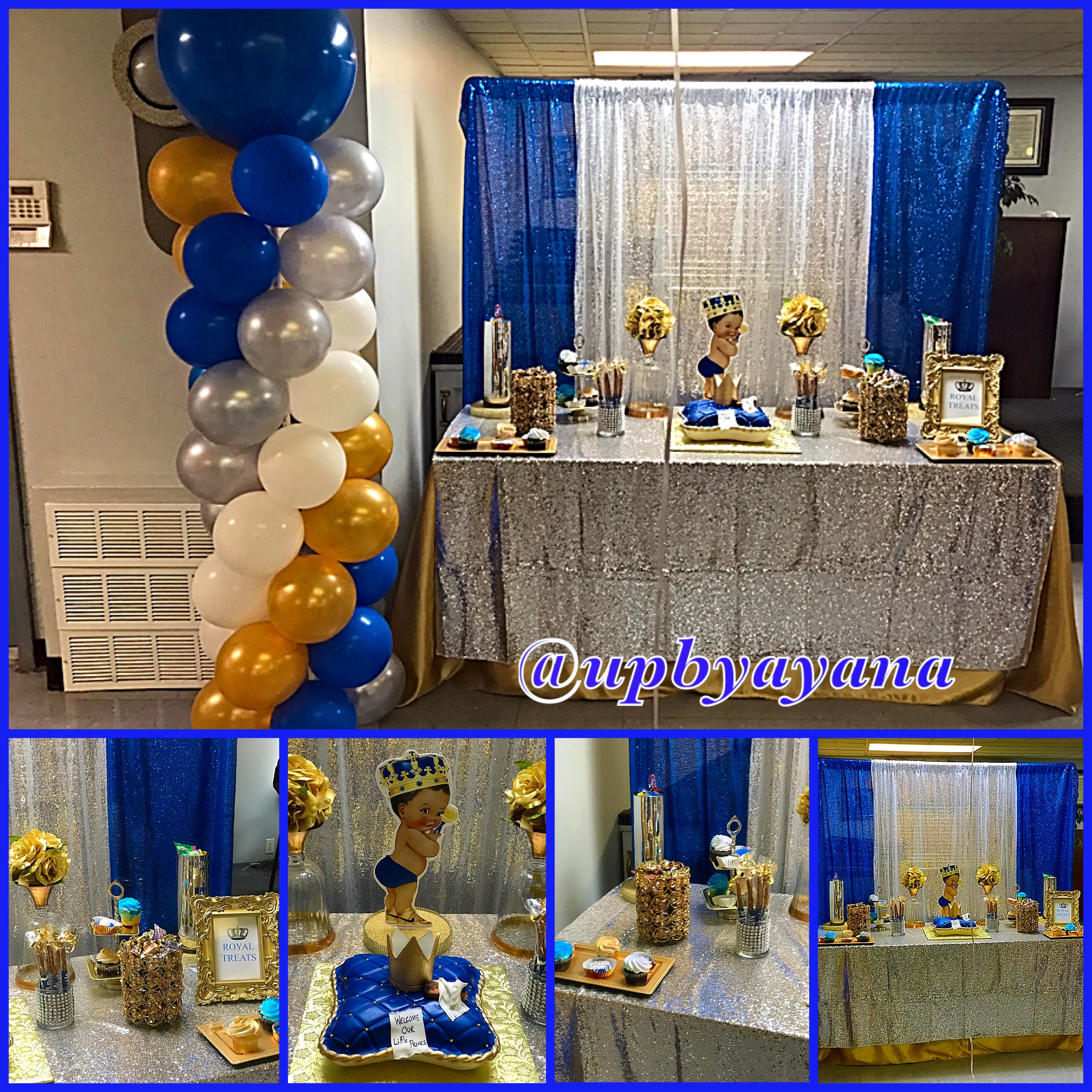 Royal Theme Baby Shower Baby Shower Decorations Baby Shower