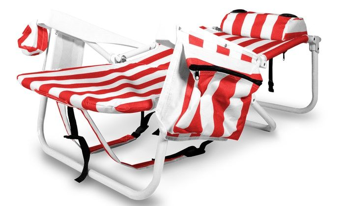 Technical Pro Full Size Rechargeable Bluetooth Beach Chair With