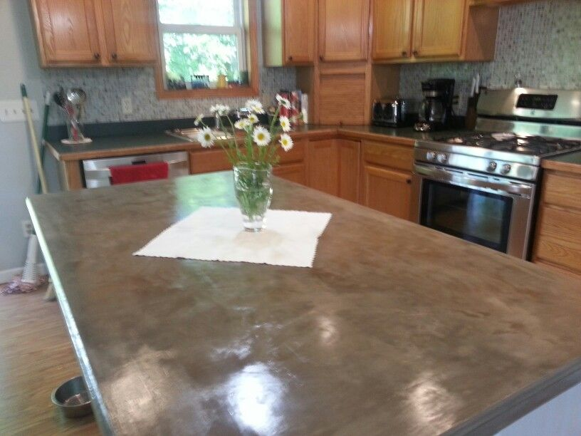 henry feather finish countertops