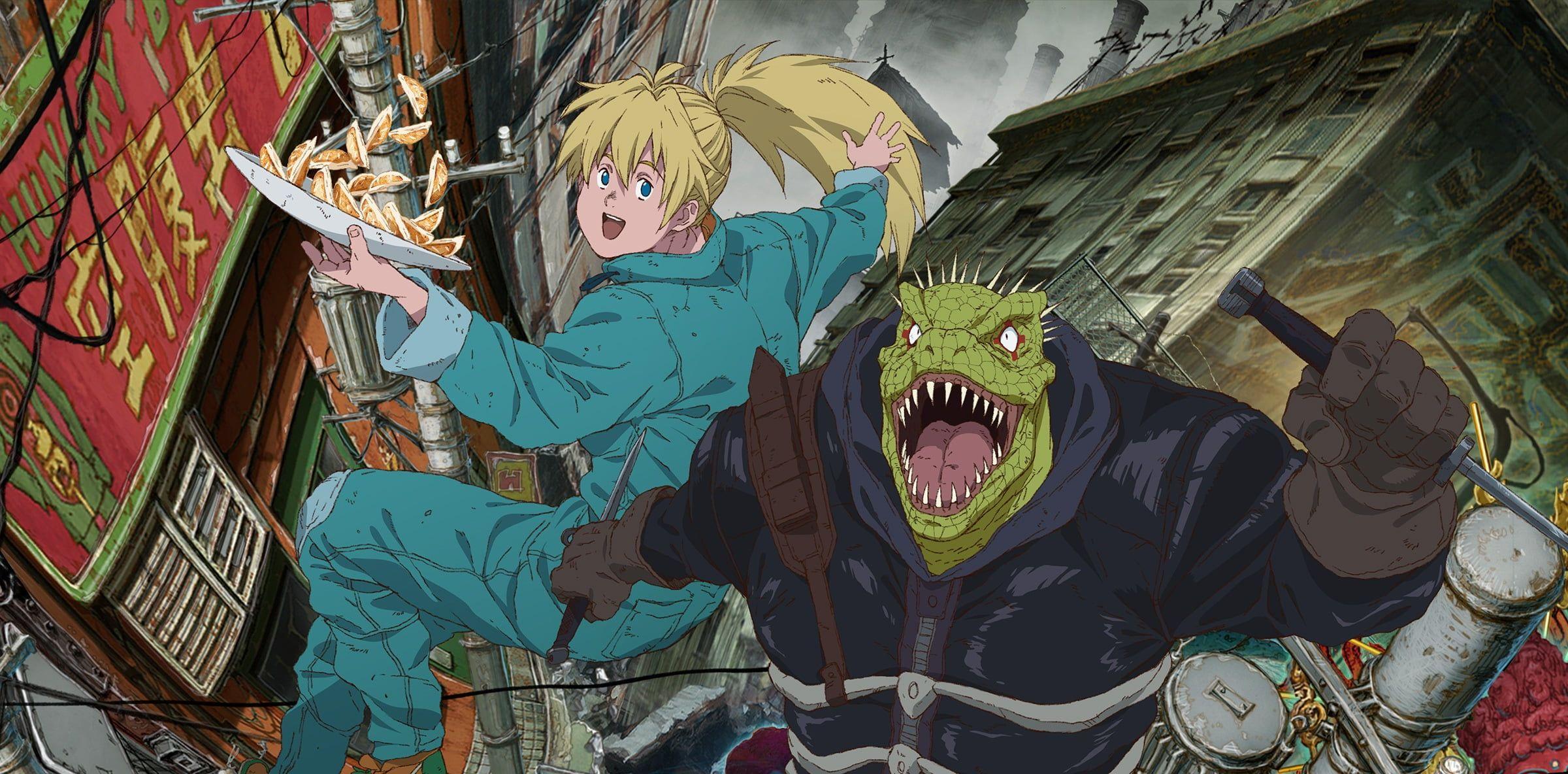 Anime Dorohedoro Kaiman (Dorohedoro) Nikaido (Dorohedoro