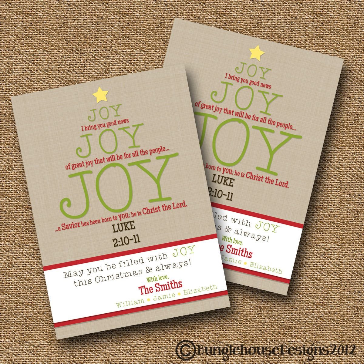 Small Of Christmas Bible Verses For Cards