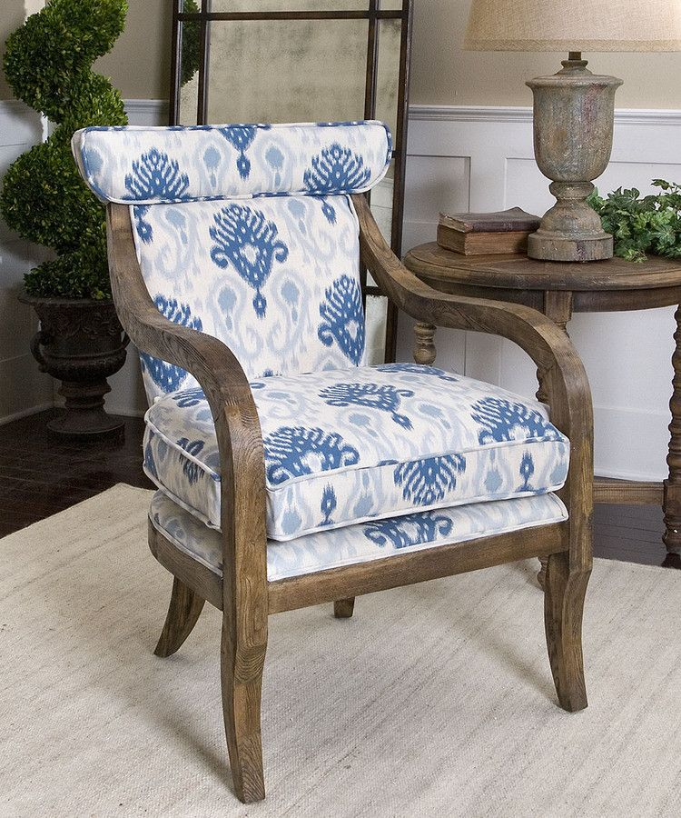 Kaiden armchair chair blue accent chairs accent chairs