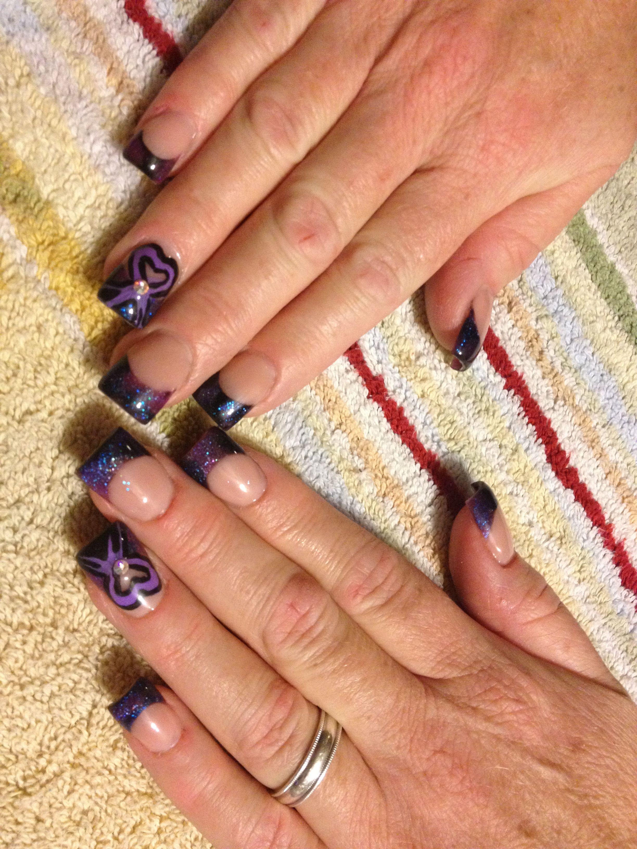 Epilepsy Awareness Nails Epilepsy Awareness Nail Art Epilepsy