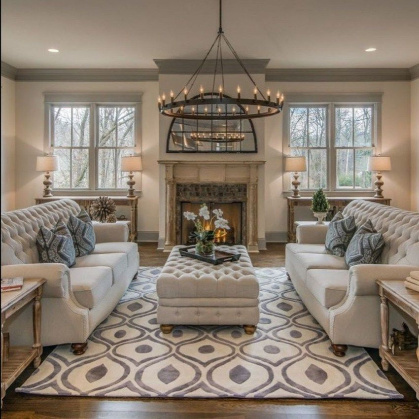 30+ Stunning Living Room Design With Farmhouse Style images