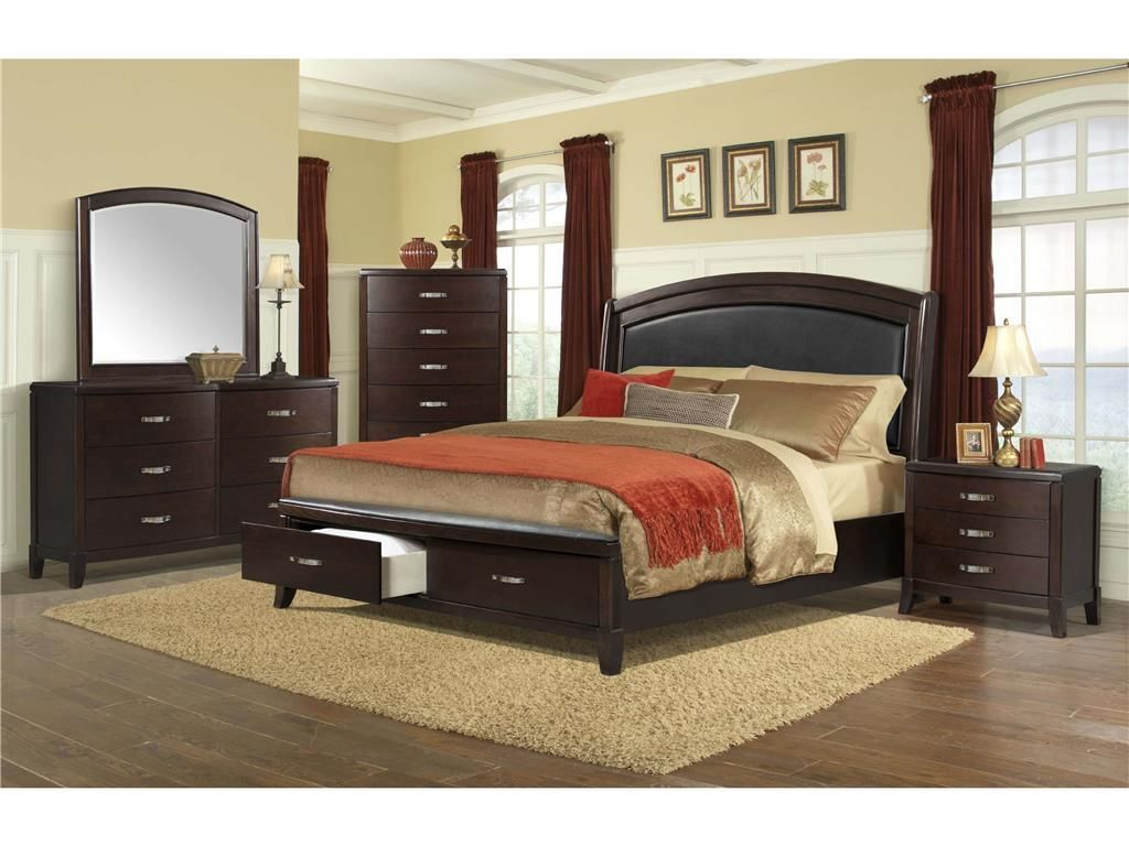 The Delaney Queen Bedroom Group By Elements International From Royal  Furniture. Visit Our Store Locations