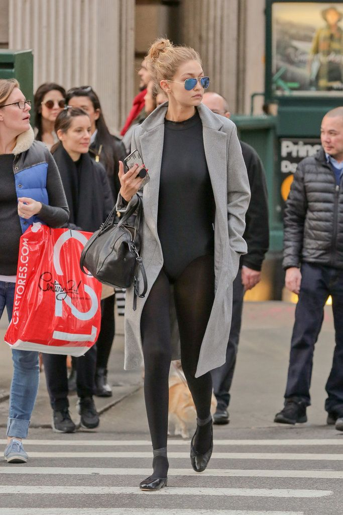 9a00a113fe Gigi Hadid ballet inspired fashion (get the look