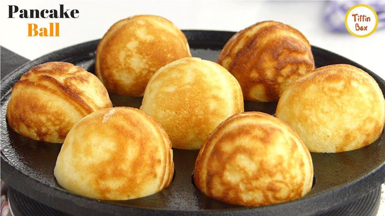 Eggless pancake ball danish pancake aebleskiver recipe